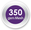 350gsm Wind-Permeable Mesh